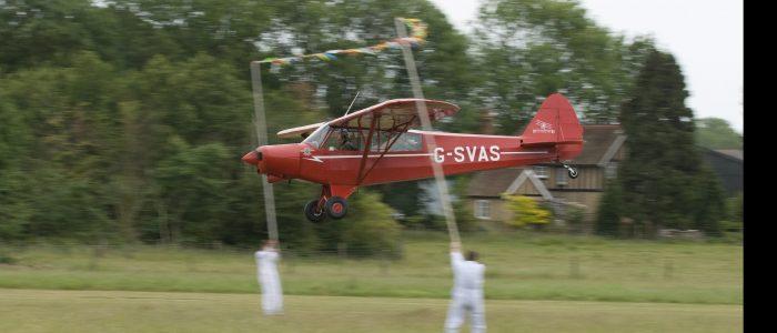 Piper Super Cub G-SVAS